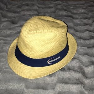 Bud Light Fedora Hat